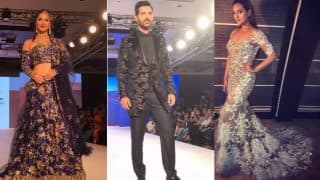 Bombay Times Fashion Week 2017: 8 Bollywood Celebrities Who Set The Ramp On Fire In Stunning Outfits