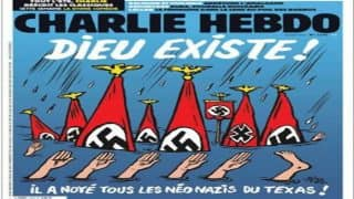 Charlie Hebdo's Controversial Cover Portrays Hurricane Harvey Victims are Neo-Nazis