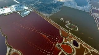Pink is The New Colour of China's 'Dead Sea'