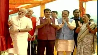 PM Narendra Modi Inaugurates Sardar Sarovar Dam 'Dedicated to People' With CM Vijay Rupani
