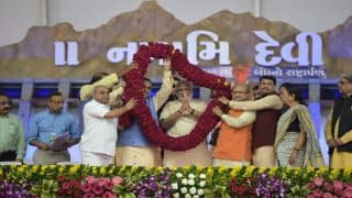 PM Narendra Modi Calls Sardar Sarovar Dam an 'Engineering Miracle' at Closing Ceremony of Narmada Mahotsav in Dabhoi