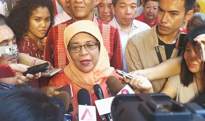 Halimah Yacob set to become Singapore's first woman President