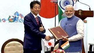 Narendra Modi, Shinzo Abe Meet in Gujarat Day 2: India, Japan Agree to Further Intensify Strategic Ties