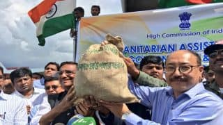 Operation Insaniyat: India Dispatches First Humanitarian Assistance Consignment For Rohingya Refugees in Bangladesh