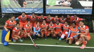 India's Women Hockey Team Beats Junior Belgium Men 4-3 on Europe Tour
