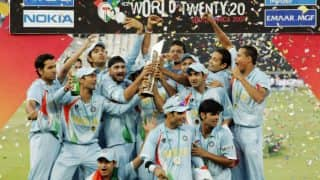 On This Day in 2007 India Defeated Pakistan to Lift Inaugural World T20 Under MS Dhoni