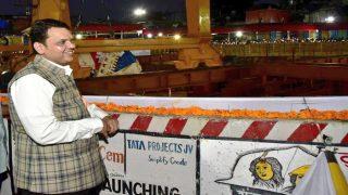 Devendra Fadnavis Kicks off Metro-3 Tunnelling Work in Mumbai