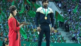 Wrestler Bajrang Punia Wins Gold in Asian Indoor and Martial Arts Games, India 12th on Medals Tally