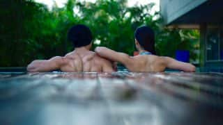 Tiger Shroff And Disha Patani Get Cosy In A Swimming Pool After Wrapping Up The First Schedule Of Baaghi 2 - View Pic