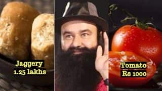 Secrets of Gurmeet Ram Rahim's Dera at Sirsa: Ridiculous Pricing of Rs 1.25 lakhs for Jaggery & Rs. 1000 for Tomatoes & Other Vegetables