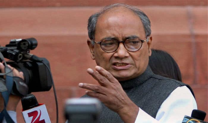 Digvijaya retweets derogatory remark on PM, says not his words