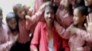 Uttar Pradesh Government School Teacher Comes Drunk To Class, Students Stand Giggling Around Him (Watch Video)