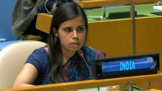 Meet Eenam Gambhir, India's Voice Who Destroyed 'Terroristan' Pakistan at United Nations