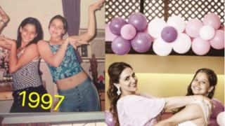 Meet The Cutest Bump Buddies, Esha Deol and Shilarna Vaze! View Pic