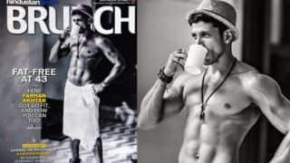 Hottest Man In Town! Farhan Akhtar Wears Just A Towel, Coolly Flaunts His Chiselled Body