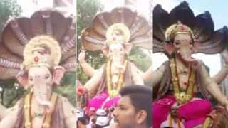 Ganesh Galli Mumbaicha Raja Visarjan 2017 LIVE Telecast & Streaming Video
