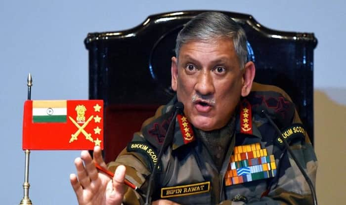 India's army chief sees war threats from China, Pakistan