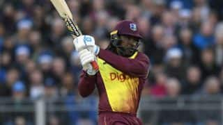 Windies Opener Chris Gayle Becomes First Batsman to Hit 100 Sixes in T20Is
