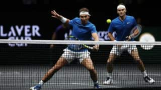 Laver Cup: Roger Federer, Rafael Nadal Team Up on Doubles Court for the First Time; Watch Highlights