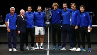 Roger Federer Leads Team Europe to Maiden Laver Cup Title
