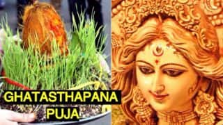 Ghatasthapana 2017 Date: Muhurat Timings and Puja Vidhi to Start Navaratri Festival