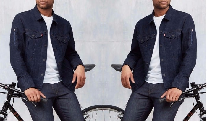 Google weaves smart touch controls into latest Levi Strauss jacket