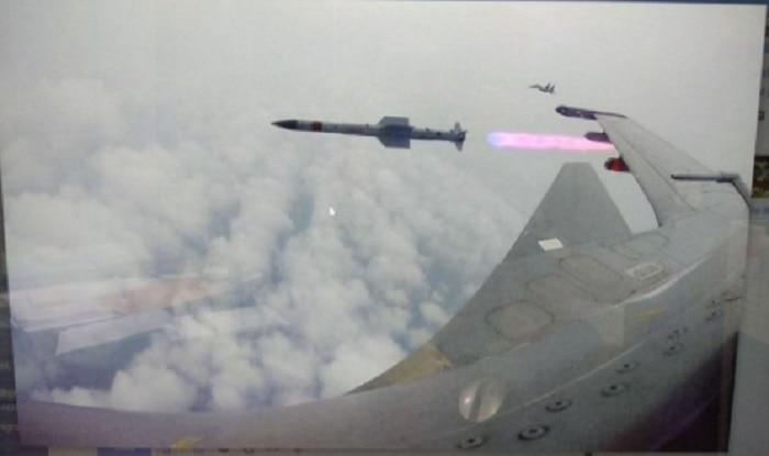 BVRAAM Astra was tested by IAF between Sept 11-15 (image: Twitter/Rakshamantri)