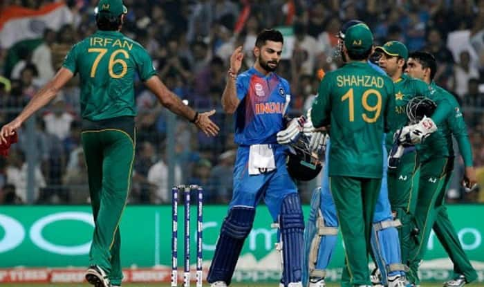 India And Pakistan In A Champions Trophy Match File Picture