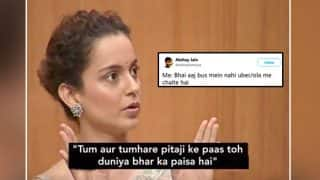 Kangana Ranaut's Rants Against Hrithik Roshan On Rajat Sharma's Aap Ki Adalat Has Become A Hilarious Meme Thanks To Twitterati