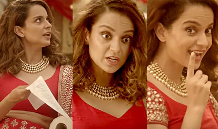 Kangana Ranaut in AIB song