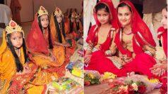 Chaitra Navratri 2020 8th Day: चैत्र नवरात्रि की अष्टमी आज, लॉकडाउन में ऐसे करें कन्या पूजन, शुभ मुहूर्त