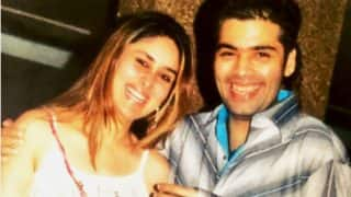 This Throwback Picture Of Kareena Kapoor Khan And Karan Johar Is Unmissable