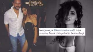 Karishma Sharma Slut-shamed for Holding a Cigarette in New Instagram Picture: Ragini MMS Returns Actress Called Porn Star