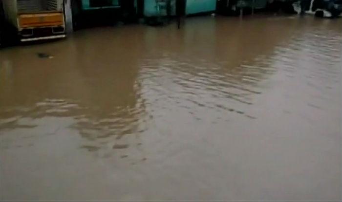 Heavy rains witnessed across Kerala (Image: ANI)