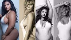 Kim Kardashian's Sexy White Swimsuit Shoot Recreated by Plus-Size Model and Pictures are Breathtakingly Beautiful