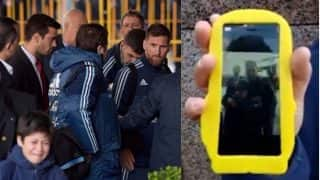 Lionel Messi Takes Selfie With Crying Young Fan After Being Dragged Away by Security Guards in This Video