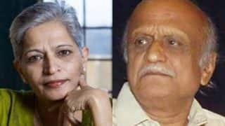 Gauri Lankesh, MM Kalburgi Were Killed by Same Pistol, Finds Forensic Report