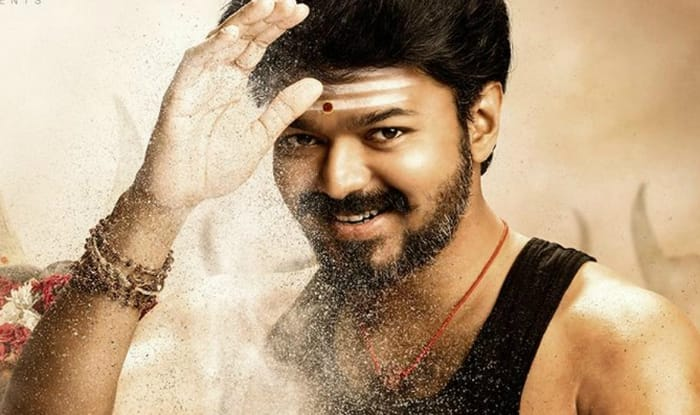Actor Vijay in Mersal
