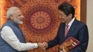 PM Modi Congratulates Japanese PM Shinzo Abe for Massive Victory