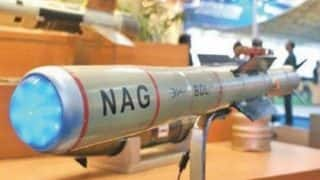 Anti Tank Guided Missile Nag Successfully Tested Twice in Rajasthan, Testing Process For Missiles Completed