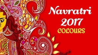 Navratri Colours 2017 With Dates: List of 9 Different Coloured Dresses to Wear During Navaratri Festival to Please Goddess Durga