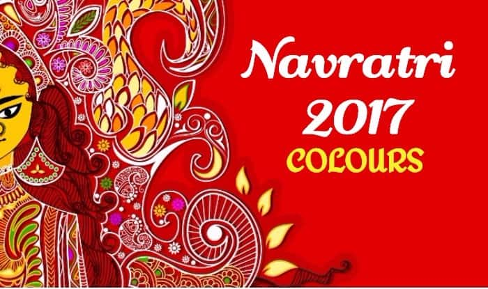 Navratri 2017 Colours