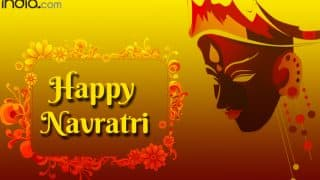 Navratri 2017 Wishes in Hindi: Best SMS Messages, Quotes & WhatsApp GIF Images To Send Greetings on Nav Durga Festival