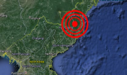 Earthquake Detected in North Korea Hours After Kim Jong-un Regime Threatens Another Nuclear Test