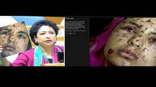 Pakistan's UN Ambassador Maleeha Lodhi Shows Palestinian Victim as Kashmiri With Pellet Gun Injuries
