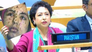 पाक का एक और बड़ा झूठ: UN में गाजा की लड़की को बताया कश्मीरी