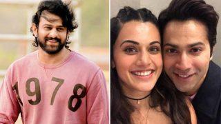 Prabhas' Saaho Fever Grips Judwaa 2 Stars Varun Dhawan And Taapsee Pannu - Watch