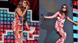 Priyanka Chopra's Sexy Floral Outfit At The Global Citizen Festival Left Us Awestruck