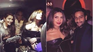Before Slaying The Red Carpet, Priyanka Chopra Attends The Pre-Emmy Party - View Inside Pics