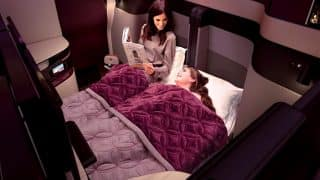 Qatar Airways Offers Double Beds In Business Class, Becomes World's First Airline To Do So